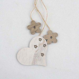 Závesná dekorácia srdce