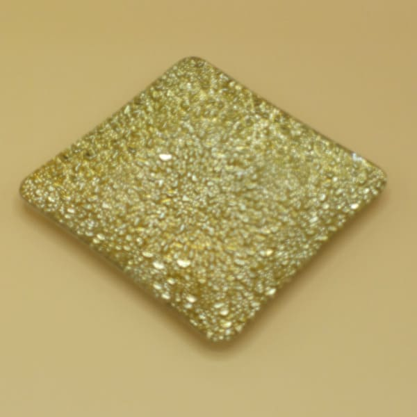 Zlatá sklenená podložka
