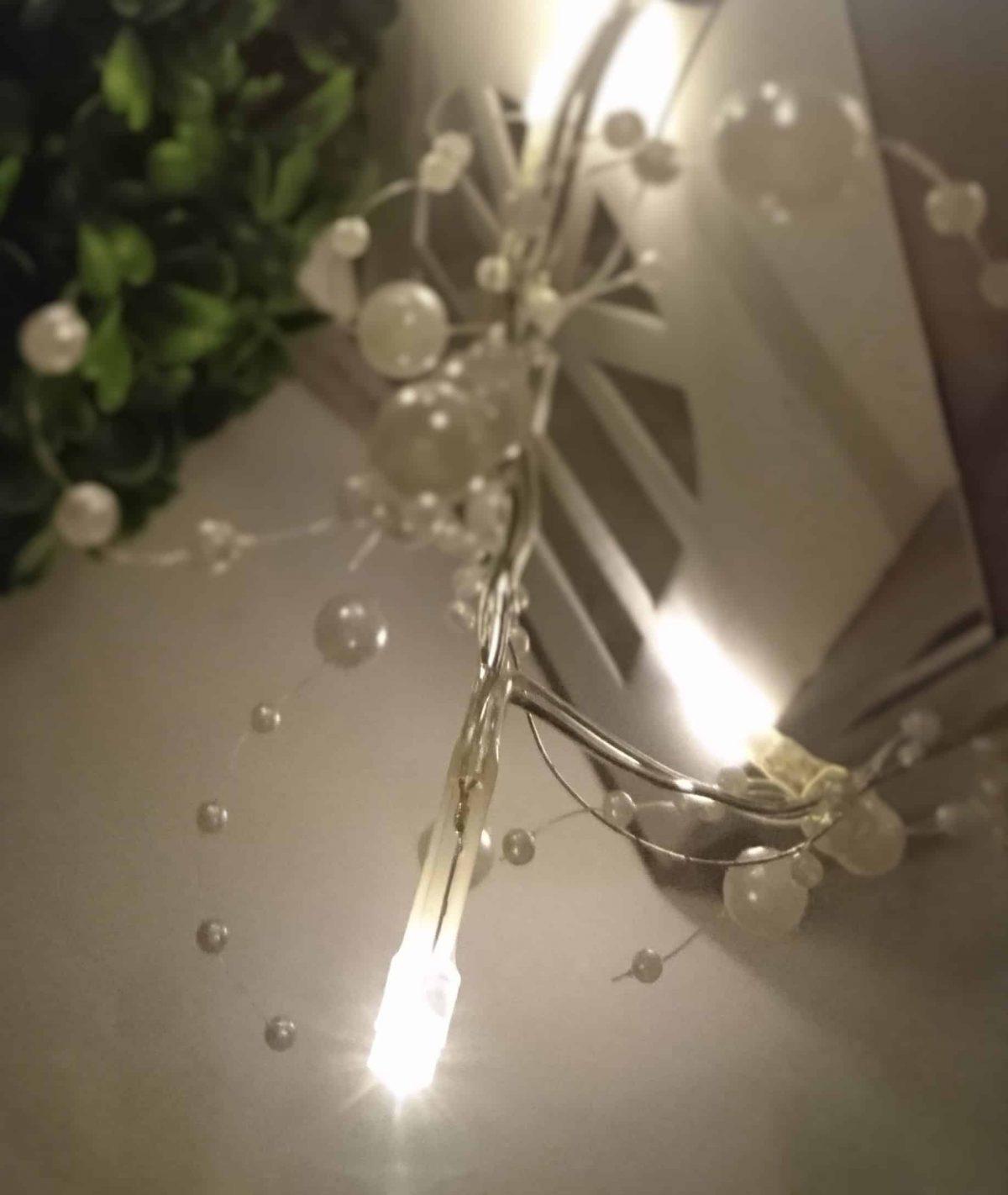 Svetelne led perly