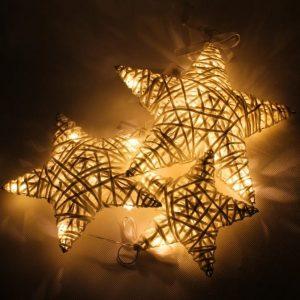 Led hviezdy na zavesenie