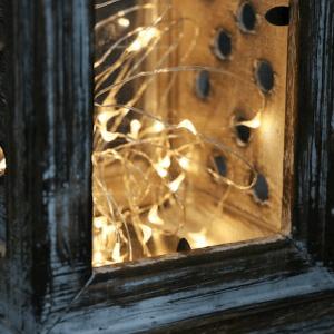 Led drôt 20 svetielok s časovačom