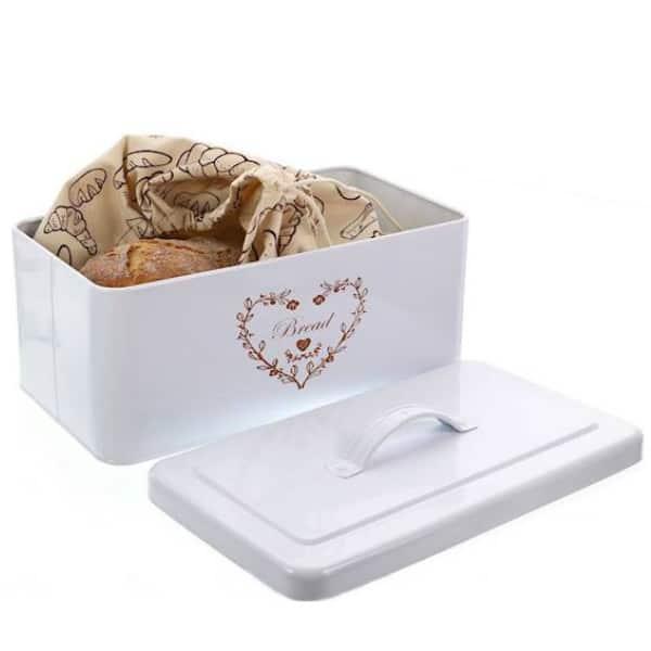 Chlebník s vreckom na pečivo