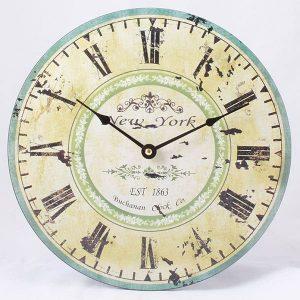 Drevené hodiny