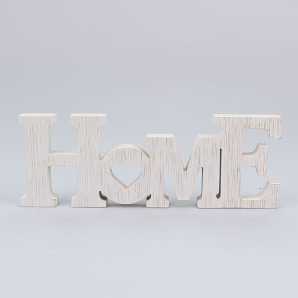 Drevený nápis HOME