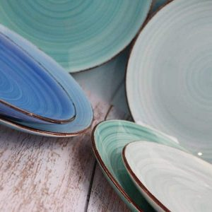 keramický tanier