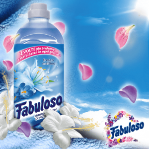 Fabuloso aviváž Fresco mattino modrá 1,0 L 40 pracích dávok