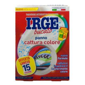 IRGE bucato panno cattura colore 15 ks