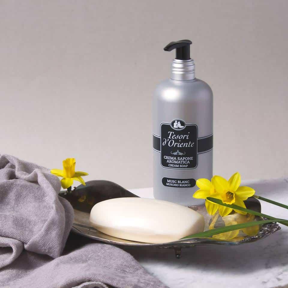 Tekuté mydlo Tesori d'Orient Ammorbidente Aromatico 3000 ml