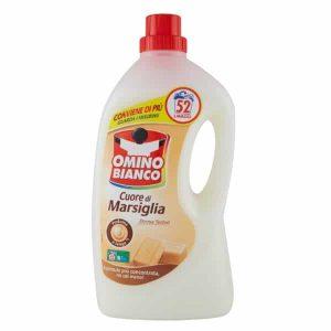 Gél na pranie Omino Bianco Cuore di Marsiglia 2600 ml 52 pracích dávok
