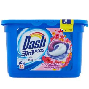 Kapsule na pranie Dash 3 v 1 Bouquet Di Primavera 15 pracích dávok