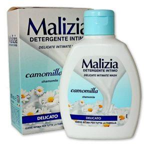 Tekuté intímne mydlo Malizia Detergente Intimo Delicato Camomilla 200 ml