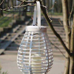 Solárny lampión s led sviečkouB