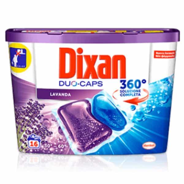 Kapsule na pranie Dixan Lavanda 16 pracích dávok