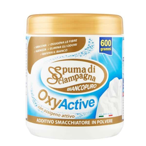 Práškový odstraňovač škvŕn SPUMA DI SCIAMPAGNA Pure White OxyActive