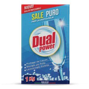 Soľ do umývačky riadu Dual Power 1 kg