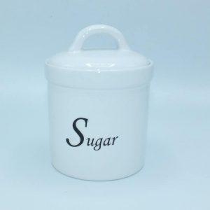 Keramická dóza s tesnením na cukor